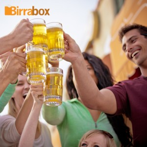 La compañía, elemento fundamental en una cata de cervezas.